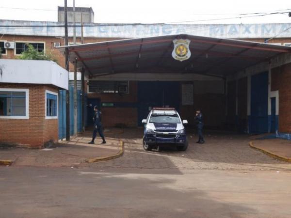 Fachada do Presídio de Segurança Máxima, que fica no complexo penitenciário no Jardim Noroeste (Foto: arquivo/Campo Grande News)
