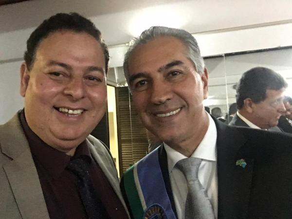 Presidente da UCVMS destaca avanços do MS e deseja sucesso ao Governador Reinaldo Azambuja