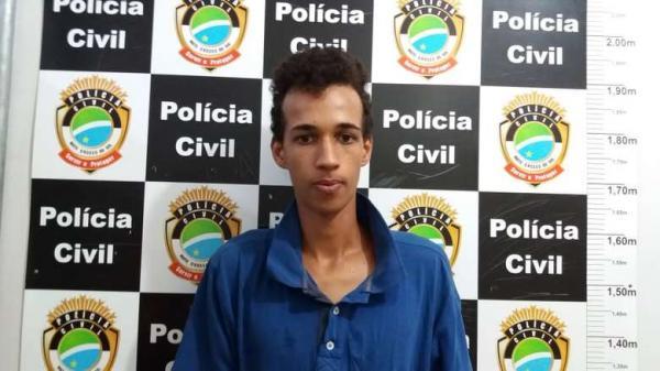 Renan Marques Peres, preso após tentar jogar celulares para dentro da PED - Crédito: Osvado Duarte