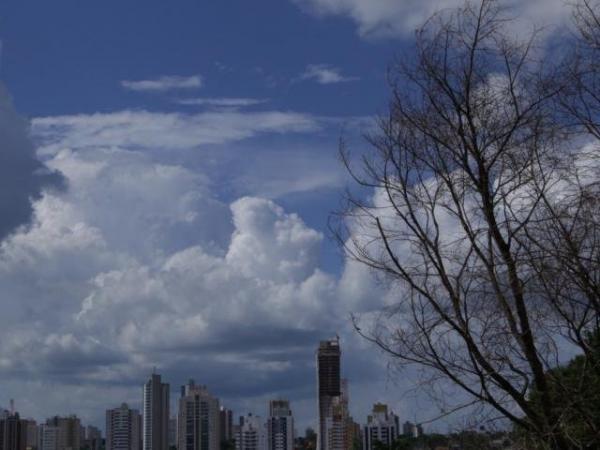 Previsão do Inmet é de pancadas de chuva e mais calor nos próximos dias em MS