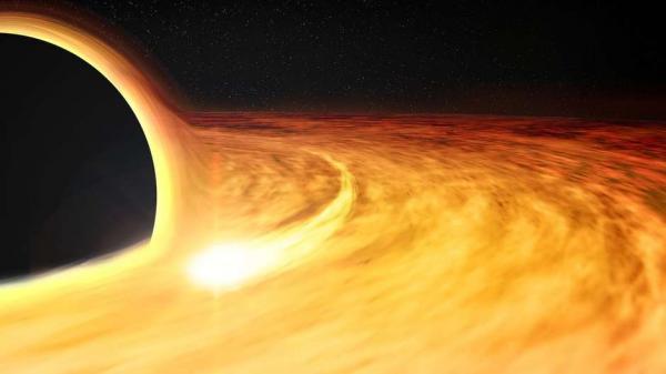 Astrônomos flagram buraco negro 'devorando' estrela