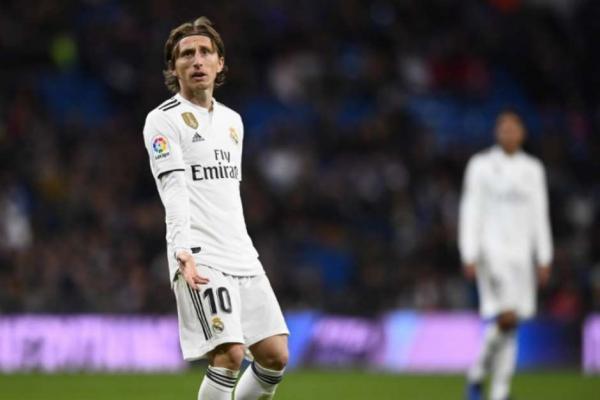 Modric está na mira de Juventus e da Inter de Milão, de acordo com TV italiana (Foto: AFP) Foto: Lance!