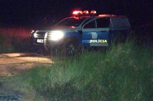 Corpo foi encontrado queimado na fronteira - Crédito: Porã News