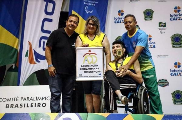 Paratleta da Associação Driblando as Diferenças MS é bicampeão brasileiro de Bocha Paralímpica