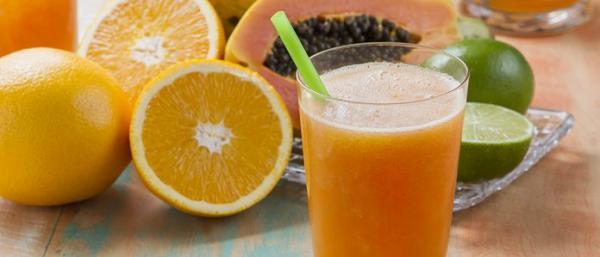 Suco de laranja detox para secar a barriga e emagrecer rápido (imagem: reprodução/internet)
