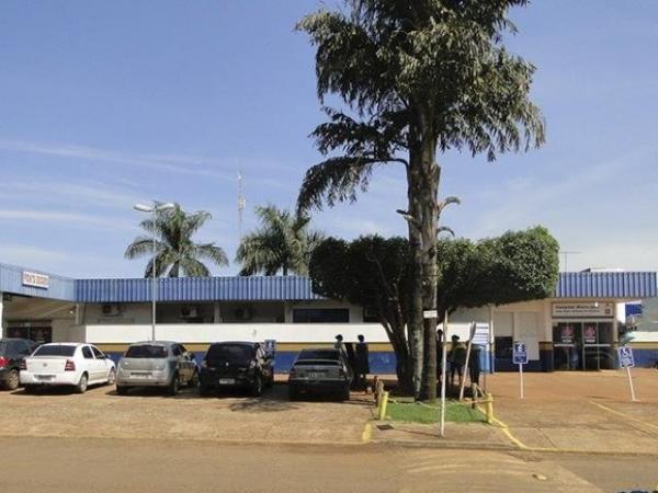 Hospital onde a mulher segue internada e sobre escolta policial. - Crédito: (Reprodução/Idest)