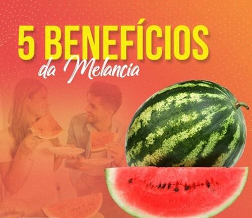 Você sabe quais os 5 melhores benefícios da melancia pra sua saúde? A Farma & Farma responde