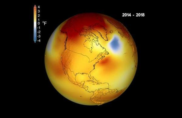 2018 foi o 4º ano mais quente da história segundo a Nasa