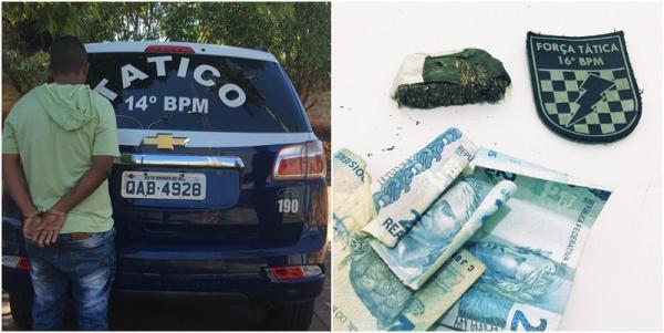 Equipe da Força Tática prendeu em Fátima do Sul fugitivo condenado por roubo