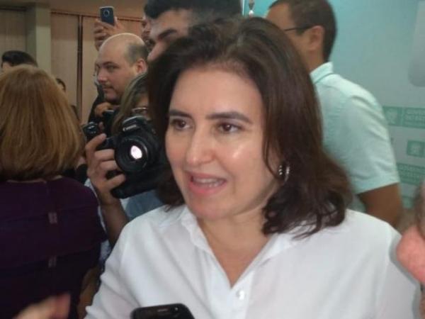 Simone disse que ficará o MDB até setembro, quando ocorrerá eleição à presidência (Foto: Leonardo Rocha)