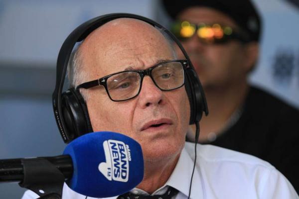 O apresentador Ricardo Boechat, morto em acidente de helicóptero Foto: José Lucena / Futura Press