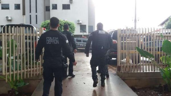 Ação contra crimes é realizada vários bairros nesta quinta; 2 já foram presos