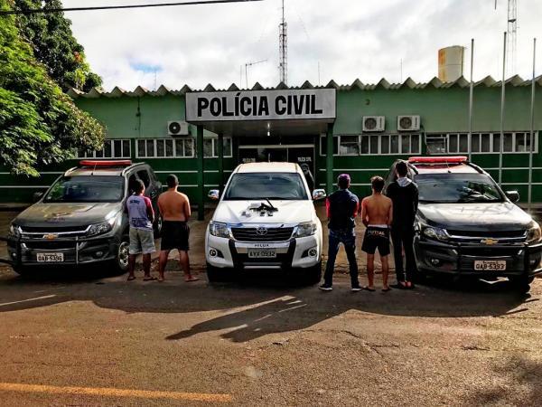Polícia desarticula quadrilha e liberta reféns em cárcere privado