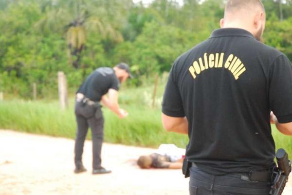 Homem é encontrado morto em estrada vicinal