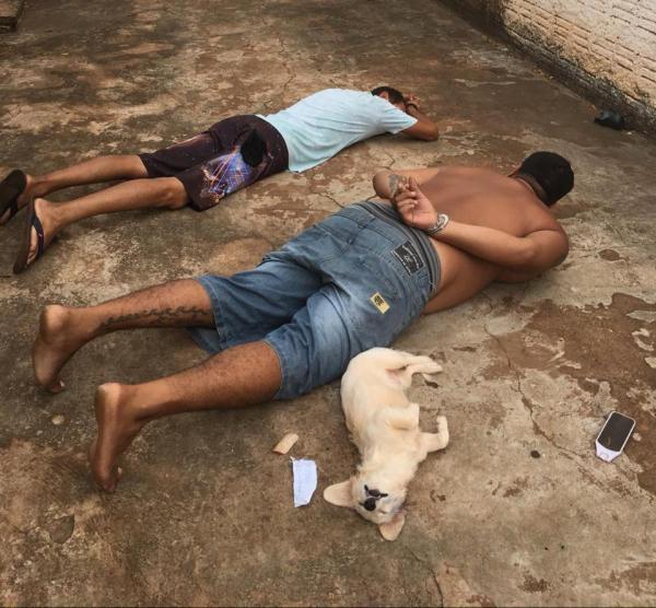 'Cãozinho solidário' levou 'Enquadro' da PM junto com traficantes em Deodápolis