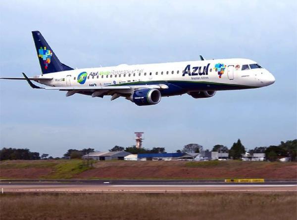 Companhia aérea Azul abre 150 vagas de emprego em seis aeroportos - Crédito: Gianfranco Panda Beting / Divulgação Azul