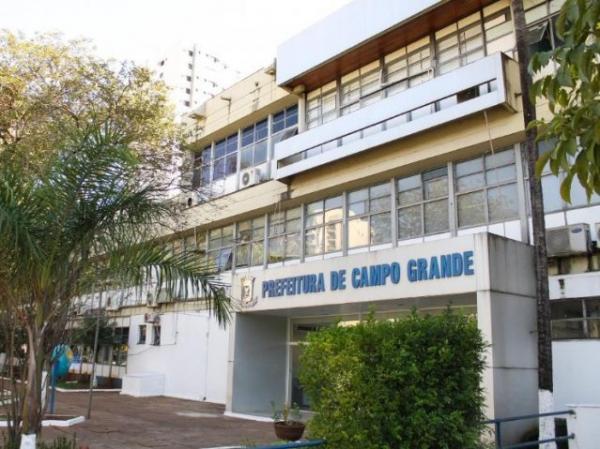 Fachada da Prefeitura em Campo Grande (Foto: divulgação/assessoria de imprensa)