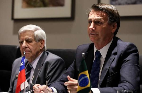 Bolsonaro discute hoje no Chile criação de fórum para substituir Unasul