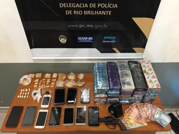 Polícia de Rio Brilhante deflagra Operação contra o crime organizado