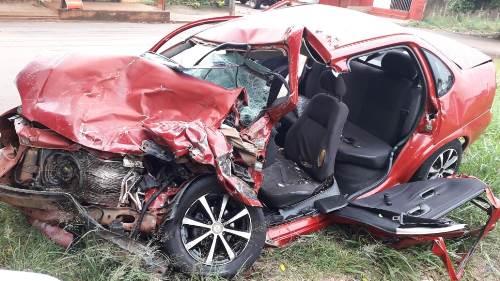 Acidente com vítima fatal em Pedro Juan Foto: Porã News