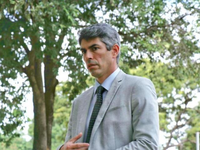 Defesa de André Puccinelli Júnior pediu transferência de ação sobre propina.(Foto: Henrique Kawaminami)