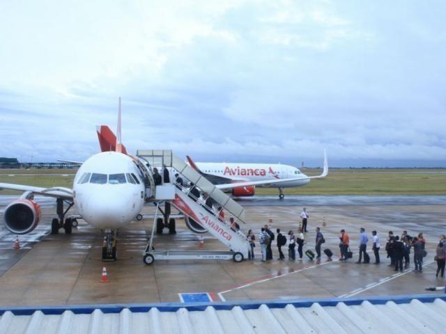 Em MS foram cancelados 38 voos, partindo da Capital ou vindo de outras cidades (Foto/Arquivo: Marina Pacheco)