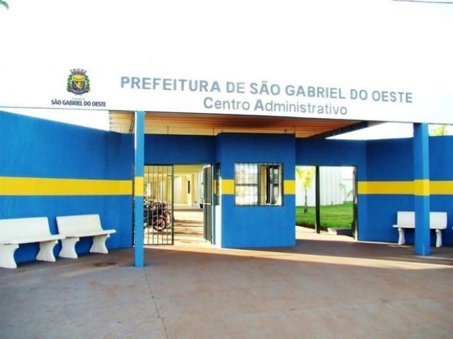 Fachada da prefeitura (Foto: Herica Bortolini/Prefeitura de São Gabriel do Oeste)
