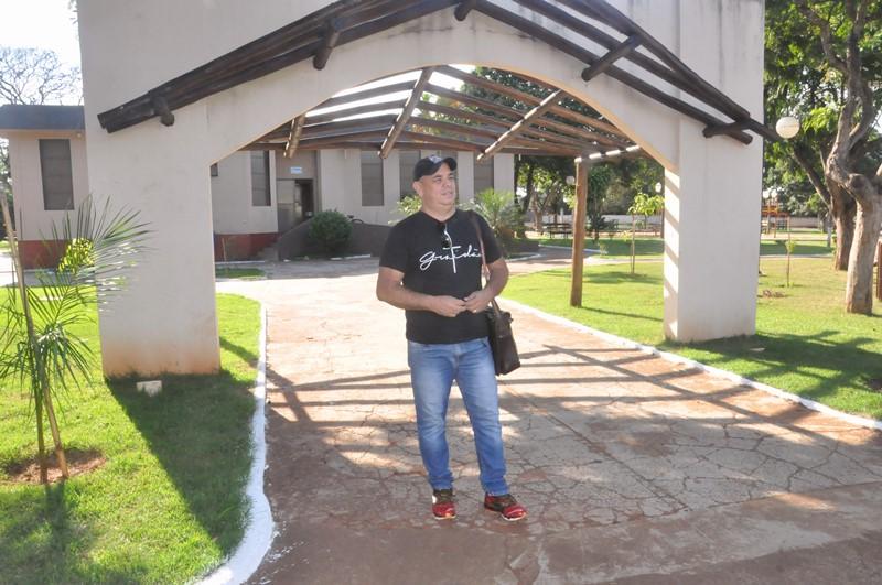 Secretário de Cultura realizou vistoria no local onde o evento será realizado. Foto: Divulgação.