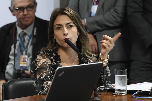 A senadora de MS, Soraya Thronicke (PSL). (Foto: Roque de Sá/Agência Senado)