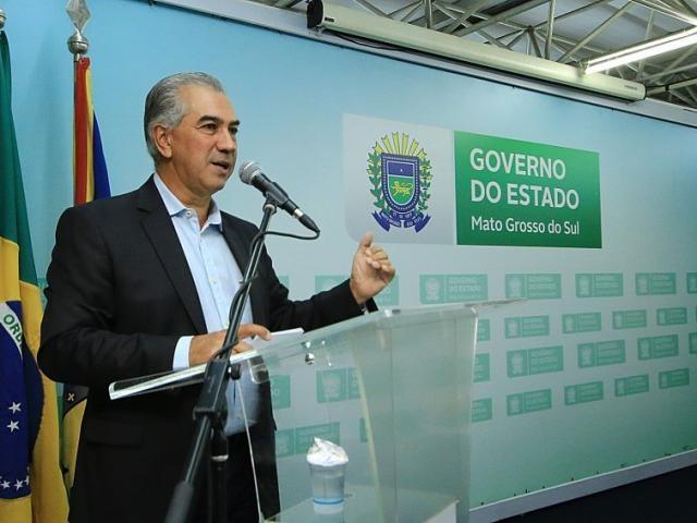 Governador Rreinaldo Azambuja (PSDB) cumpre agenda em Brasília (Foto: Edemir Rodrigues - Governo MS)