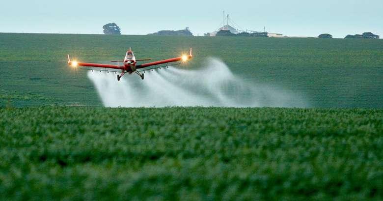 No ano passado, foram registrados 450 agrotóxicos - Crédito: Agência Brasil
