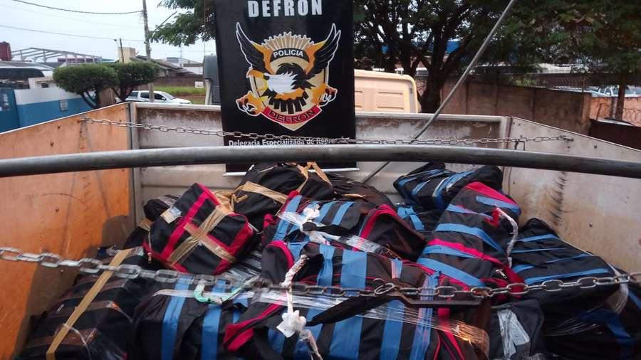 Homem confessou o tráfico e disse que já tinha levado droga para outro Estado outras vezes - Crédito: Foto: Divulgação/ Polícia