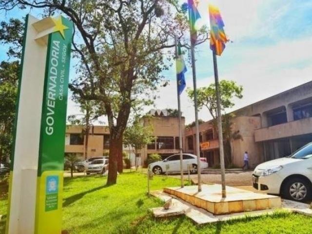 Sede do Governo de Mato Grosso do Sul, no Parque dos Poderes (Foto: Arquivo)
