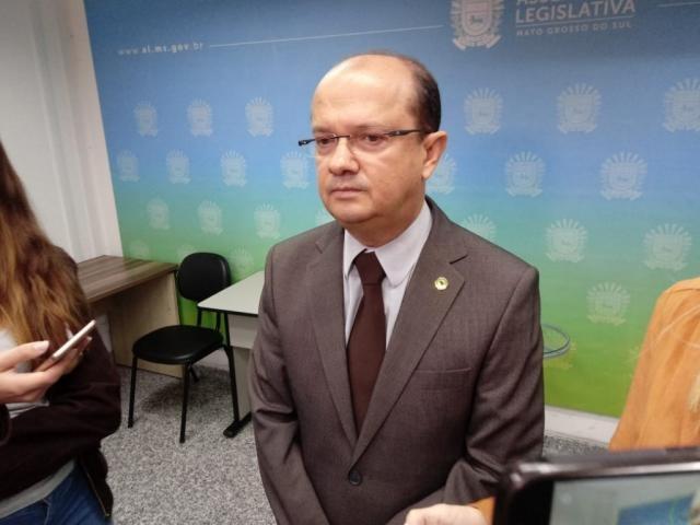Líder do Governo, o deputado José Carlos Barbosa (DEM), durante sessão (Foto: Leonardo Rocha)