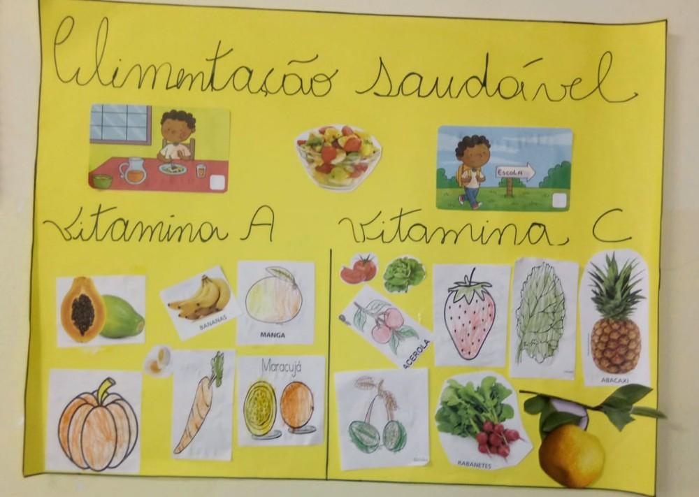 Escola Crescer e Aprender realiza projeto de educação nutricional para os estudantes da instituição