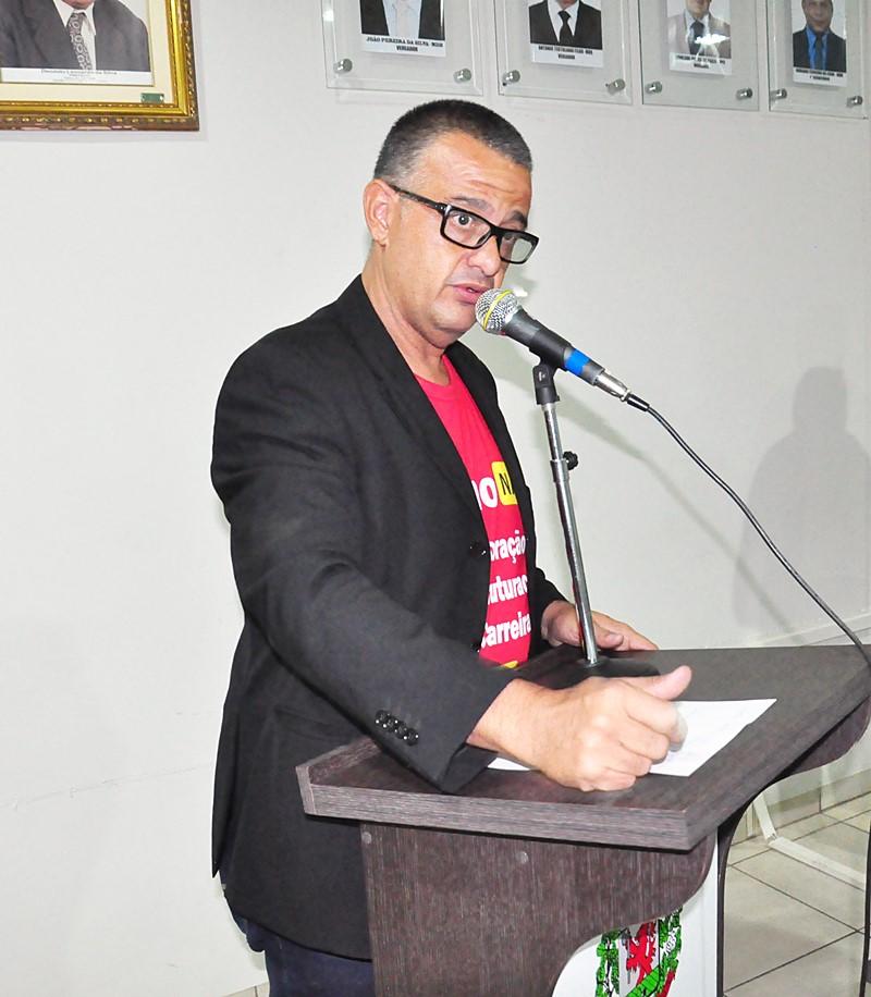 Vereador Márcio Teles.