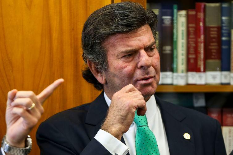 Luiz Fux, ministro do STF - Crédito: Arquivo/Marcelo Camargo/Agência Brasil