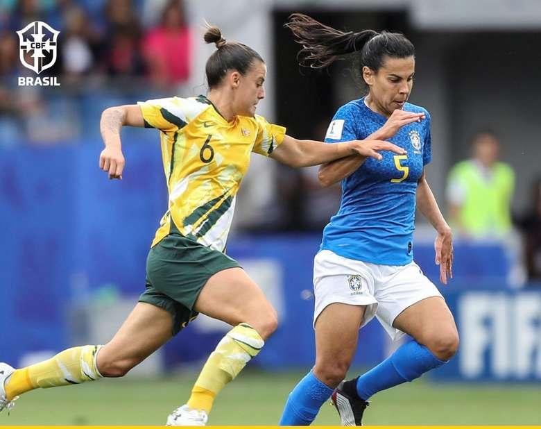 Foto: Divulgação/Fifa (adsbygoogle = window.adsbygoogle || []).push({}); SAIBA MAIS COPA DO MUNDO FEMININA Brasil encara a Austrália pela segunda rodada da competição