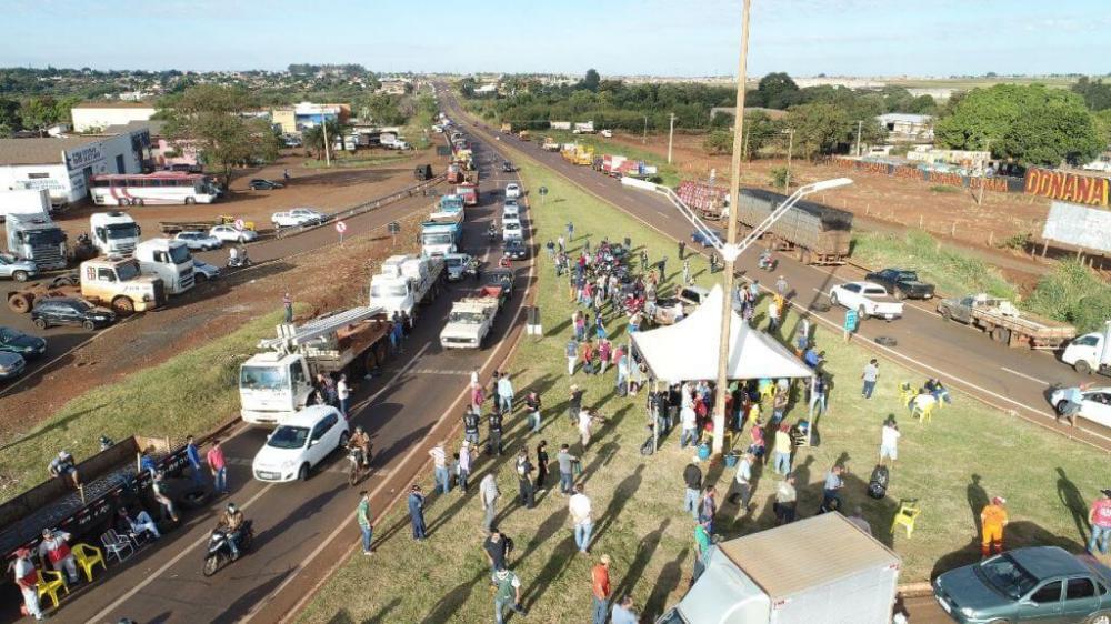 Durante greve dos caminhoneiros, postos de Dourados elevaram preços de forma abusiva, segundo o MPE (Foto: Eliel Oliveira/Arquivo)