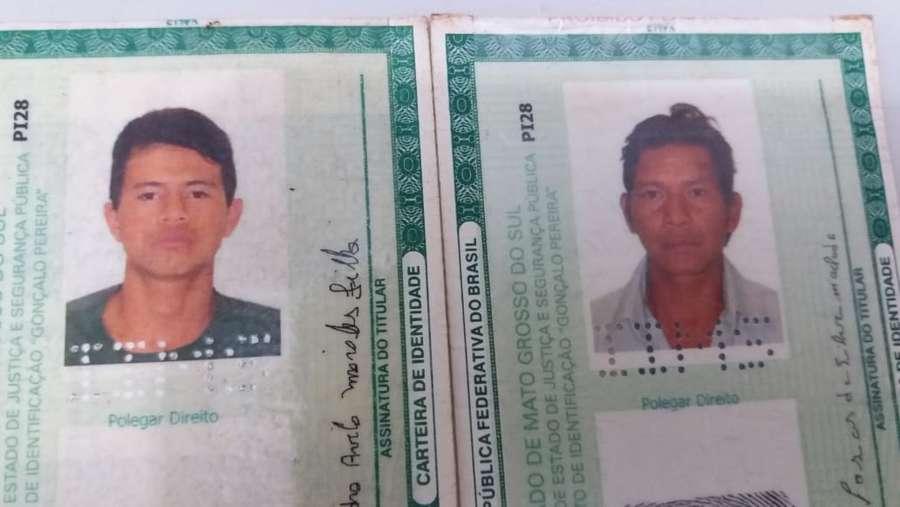 Executados eram tio e sobrinho - Crédito: Osvaldo Duarte/Dourados News