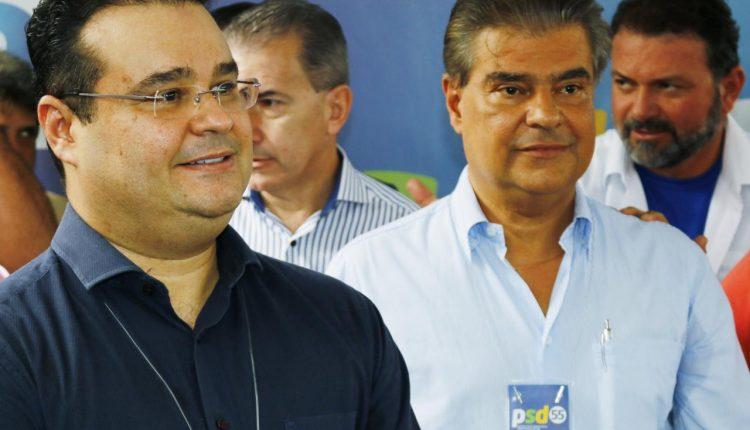 Deputado federal Fábio Trad esteve na convenção do PSD, onde oficializou o irmão Nelsinho Trad como presidente. (Foto: Minamar Junior/ Jornal Midiamax)