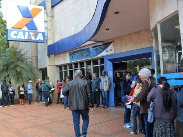 Banco foi multado por longa espera em agências de Dourados. (Foto: Dourados Agora)