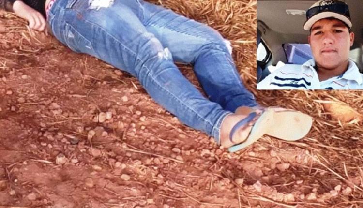 Matheus foi encontrado morto em estrada - Crédito: (Tarobá News)