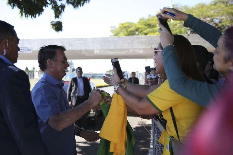 Presidente Jair Bolsonaro - Crédito: Jose Cruz/Agência Brasil