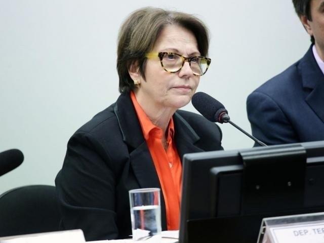 Ministra da Agricultura, Tereza Cristina, durante evento (Foto: Arquivo)