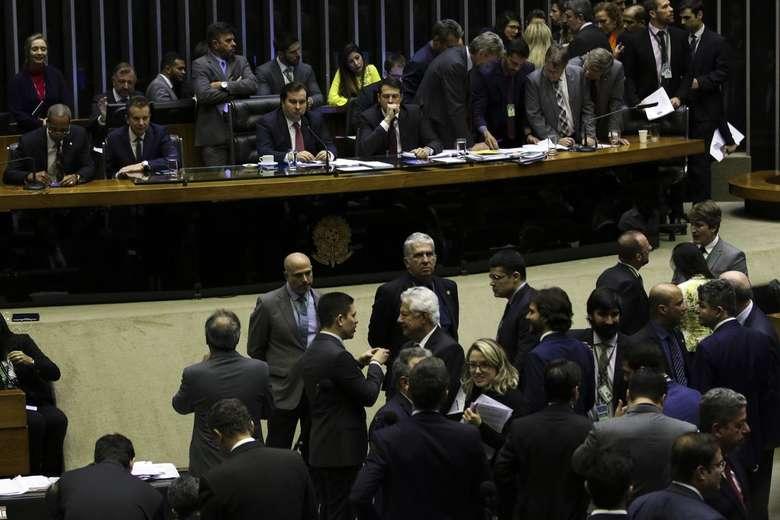 Plenário da Câmara dos Deputados - Crédito: Fabio Rodrigues Pozzebom/Agência Brasil