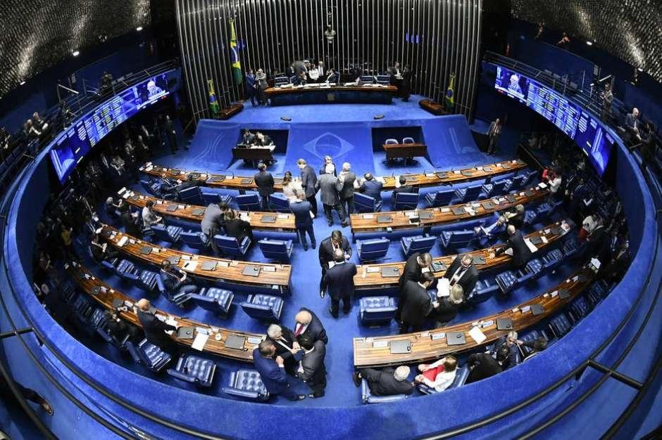 Plenário do Senado Federal; proposta foi aprovada na CCJ da Casa Foto: Marcos Oliveira/Agência Senado / Estadão Conteúdo