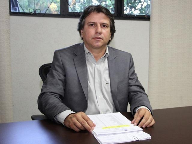 Presidente da Assomasul, Pedro Caravina, durante entrevista (Foto: Arquivo)
