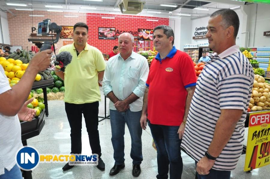 Com um grande público, Supermercado Pires inaugurou em Deodápolis