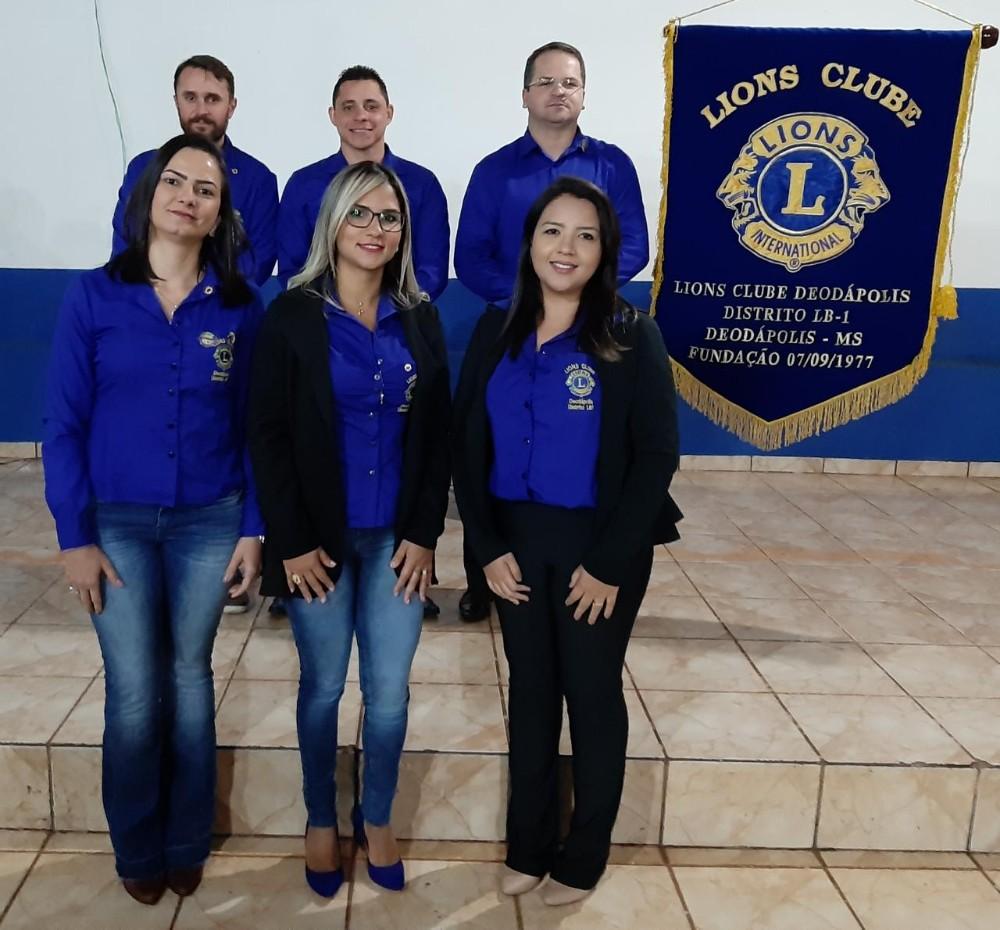 Advogado Robson Nobres assumiu a presidência do Lions Clube de Deodápolis para o 'Ano Leonistico' de 2019/2020